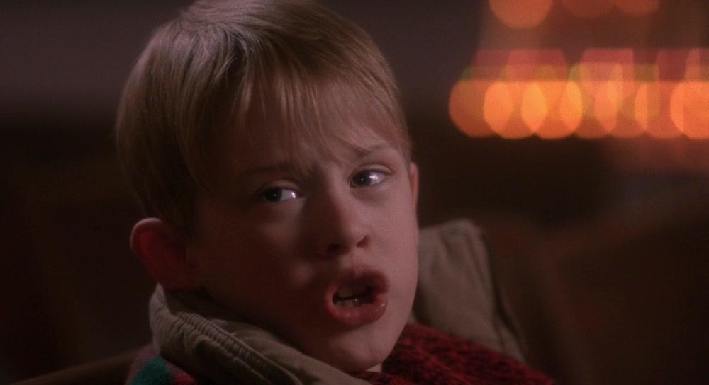 Macaulay culkin home alone scream